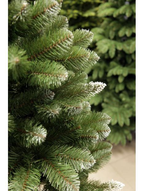 Vánoční stromeček Borovice diamantová 2D jehličí na kmínku 155cm