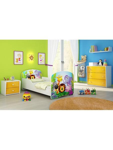 Dětská postel ACMA 140x70 + matrace zdarma