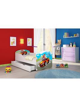 Dětská postel ACMA BOX 160x80 + matrace zdarma