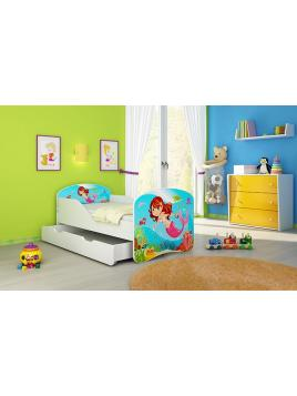 Dětská postel ACMA BOX 140x70 + matrace zdarma