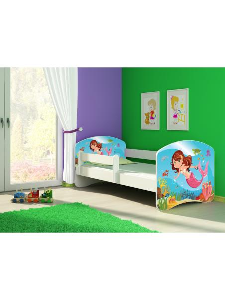 Dětská postel ACMA II Bílá 160x80 + matrace zdarma