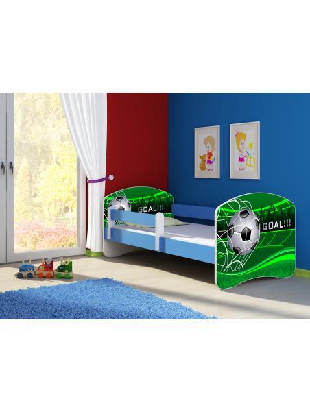 Dětská postel ACMA II Modrá 180x80 + matrace zdarma