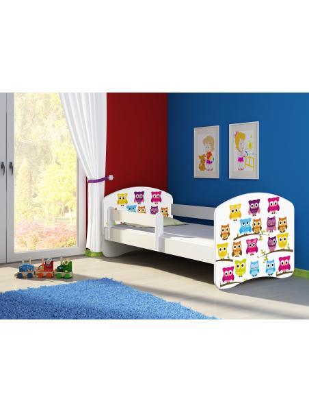 Dětská postel ACMA II Bílá 180x80 + matrace zdarma