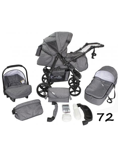 Baby Group Kerttu Twist + autosedačka