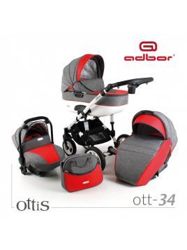 Adbor Ottis 2018 (kombinovaný kočárek)