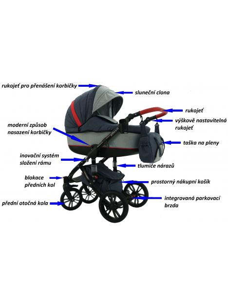 Babysportive Vallero 2018 + autosedačka