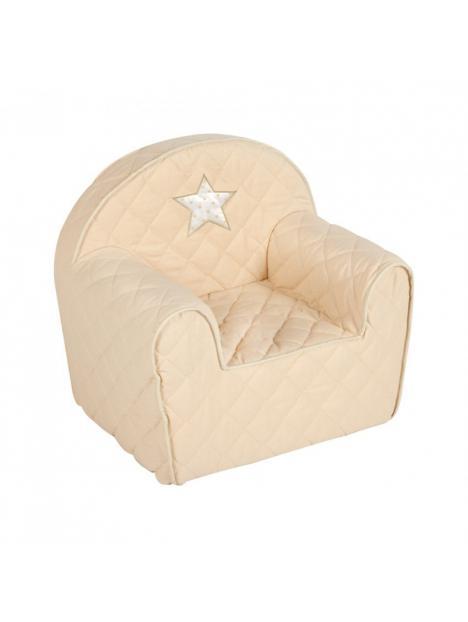 Dětské křesílko Albero Mio Hvězdička béžová