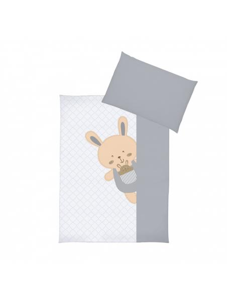 Dětské povlečení ALBERO MIO Veselý králíček