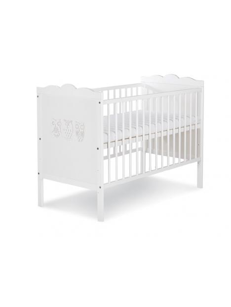 Dětská postýlka Klups Marsell - bílá 120x60 cm