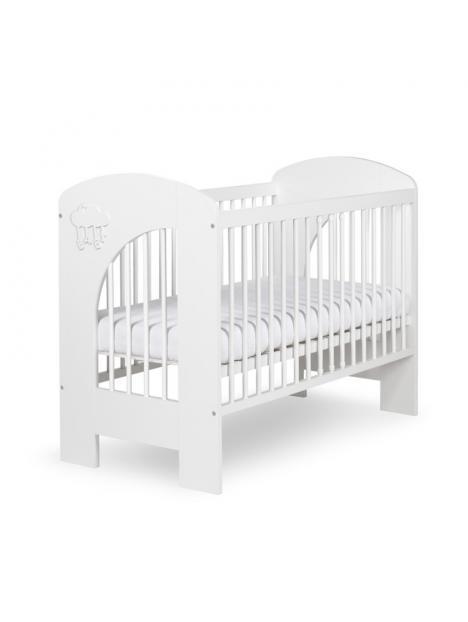Dětská postýlka Klups Nel obláček - bílá 120x60 cm