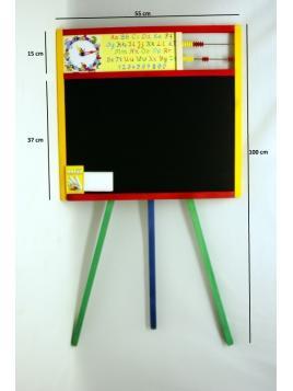 Dětská tabule s abecedou MALIMAS