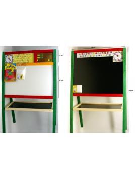 Dětská magnetická tabule  MALIMAS oboustranná