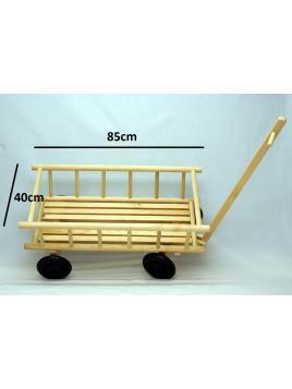 Dětský dřevěný vozík - žebřiňák Malimas