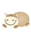 Dětská postýlka Drewex Hippo se stahovací bočnicí - transparentní bílá 120x60 cm