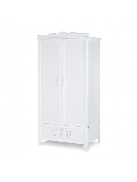 Dětská skříň Klups Marsell - bílá
