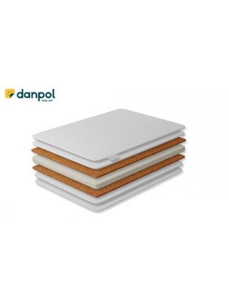 Matrace Danpol Komfort II kokos-pěna-kokos 120x60x8 cm