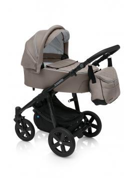 Baby Design Lupo Comfort 2019 + autosedačka černý rám