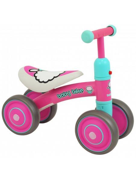 Odrážedlo BABY MIX - Baby Bike růžové