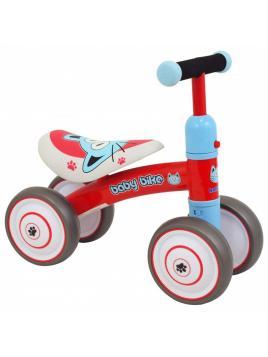 Odrážedlo BABY MIX - Baby Bike červené