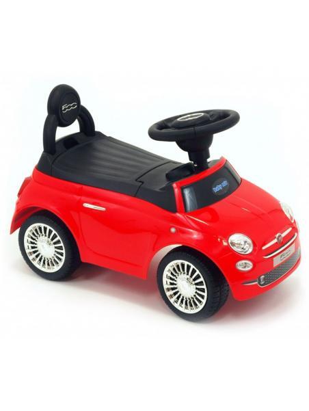 Odrážedlo Baby Mix Fiat 500 červená