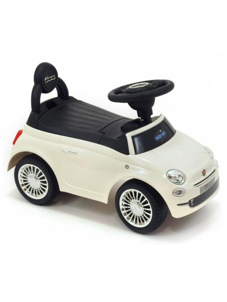 Odrážedlo Baby Mix Fiat 500 bílá
