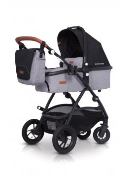 Easy Go Optimo Air Grey Fox 2019 + autosedačka