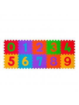 Pěnové puzzle BabyOno Čísla (10 Ks) Klasik