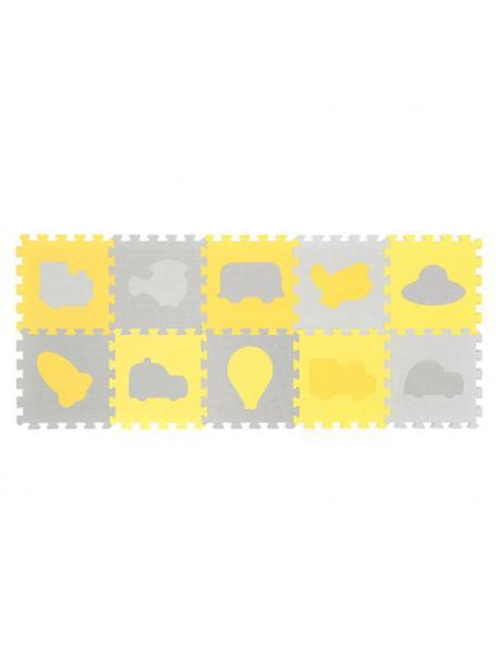Pěnové puzzle BabyOno Dopravní prostředky (10 Ks)