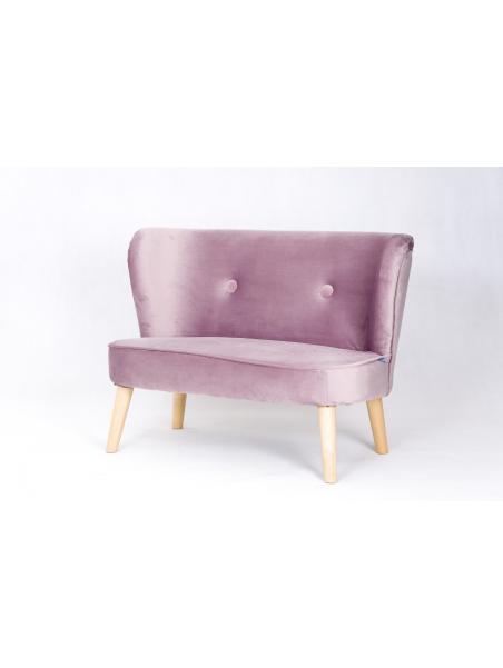Dětská pohovka Drewex Retro Sofa růžová