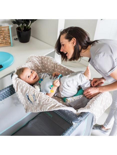 Baby Ono Oboustranná deka Minky 75x100 cm s usínáčkem 30x30 cm tyrkysová
