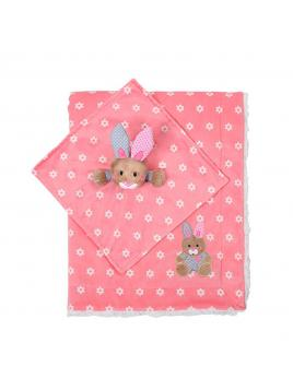 Set deka + usínáček BabyOno Růžová
