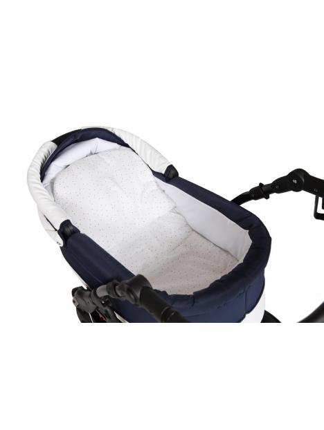 Baby Merc Leo 2019 (kombinovaný kočárek) kola gelová