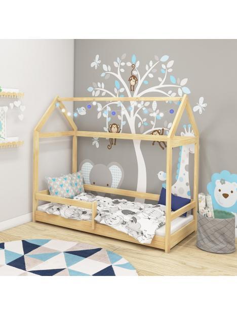 Dětská postel domeček 140x70 cm ACMA