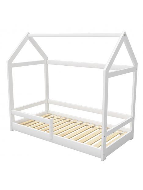 Dětská postel domeček 180x80 cm ACMA bílá