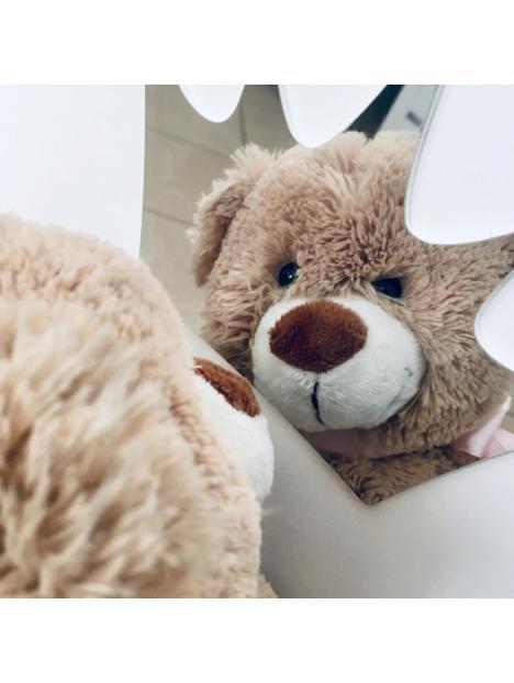 Dětská postýlka Klups Blanka 120x60 cm bílá