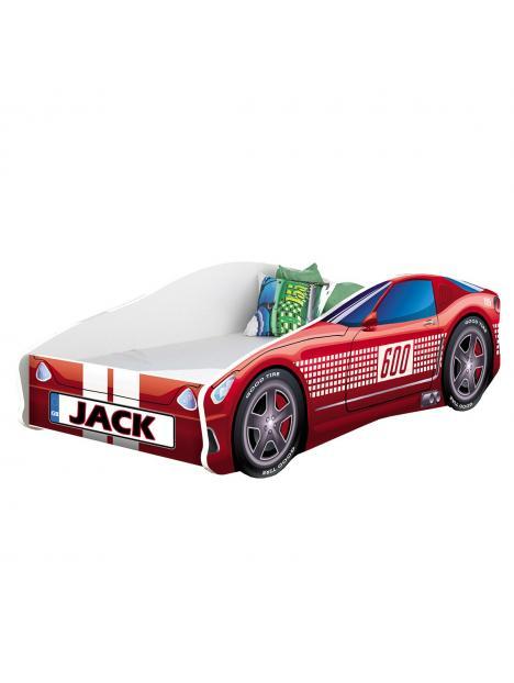 Dětská postel Acma V Sport Car 140x70 cm + matrace zdarma