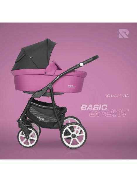 Riko Basic Sport 03 Magenta 2020 +autosedačka