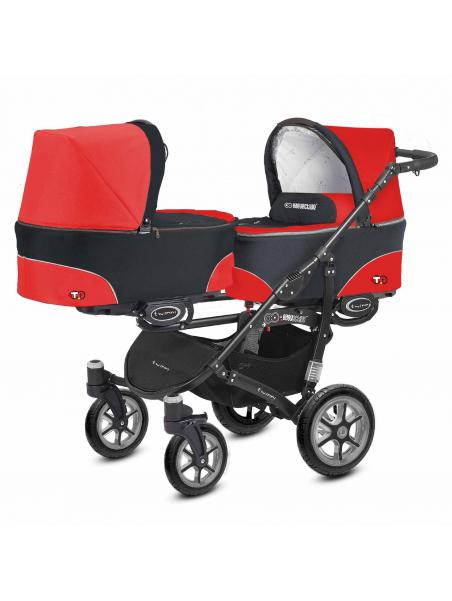 BabyActive Twinni Mexican Red 03 +autosedačka
