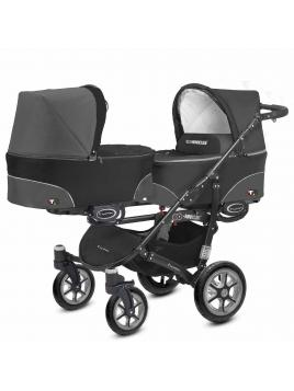 BabyActive Twinni Dark Black 04 +autosedačka