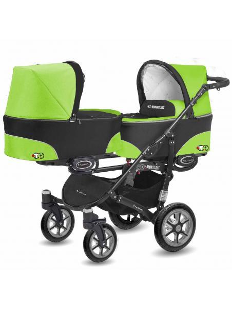 BabyActive Twinni Green Apple 06 +autosedačka