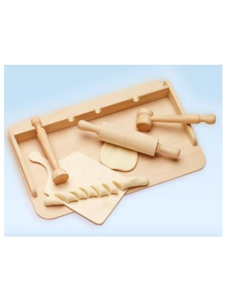 Dřevěný set do kuchyňky Malimas