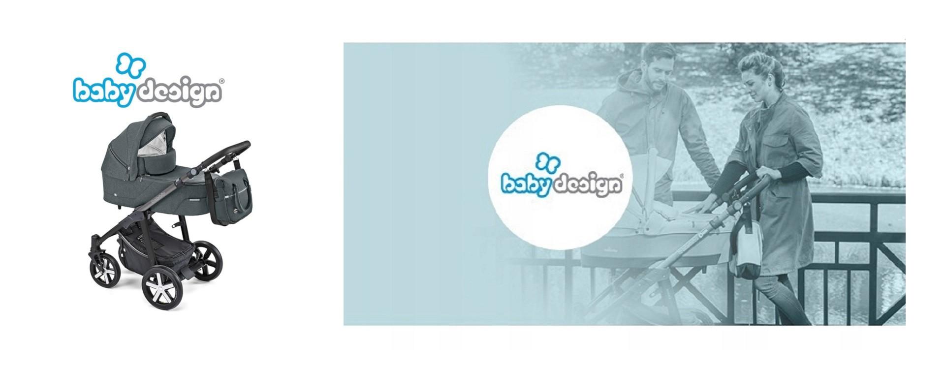 Kočárek Baby Design Husky 2019
